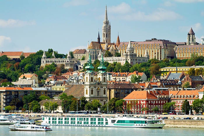 Budapest sightseeing walking tour Buda